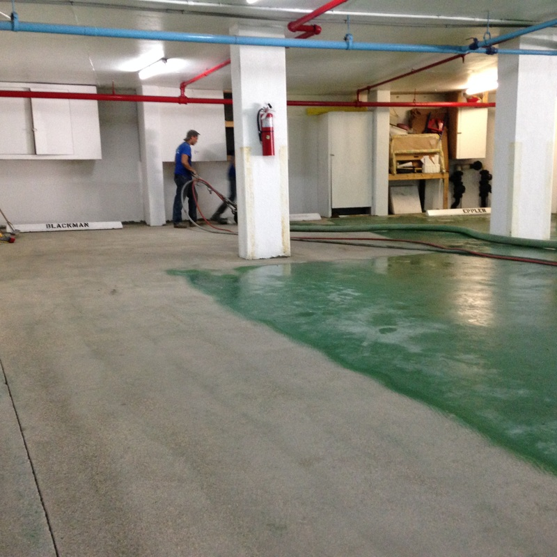 Glue And Epoxy Removal From Concrete Floor After The Tiles Are Removed: Xylene Stain Removal