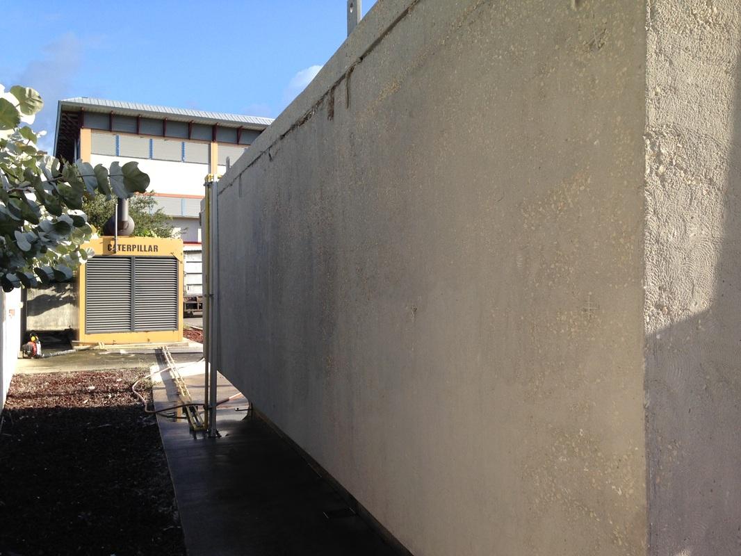 Diesel Concrete Tank Paint Removal Gar Waterblasting